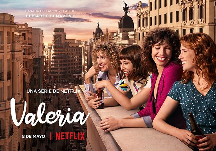 Beeld uit Netflix serie Valeria