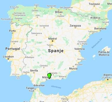 B&B Casa Agradable Kaart Spanje