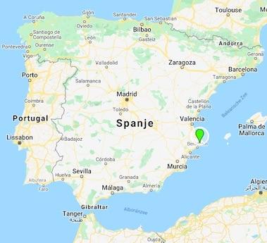 Buena Idea landkaart Spanje