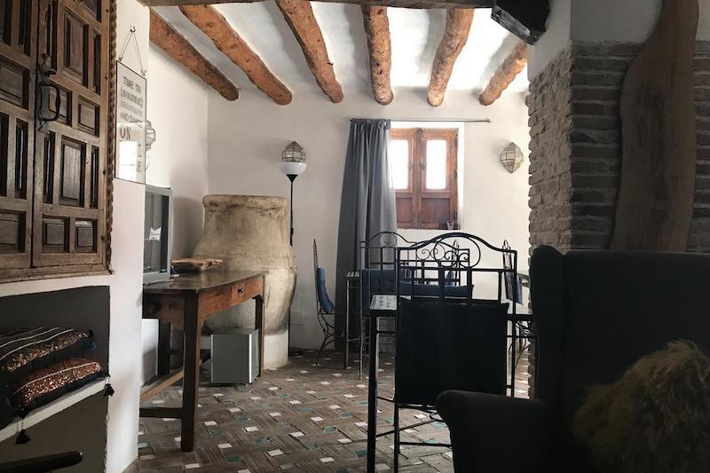 B&B Casa Aire de Lecrin gemeenschappelijke ruimte andalusie