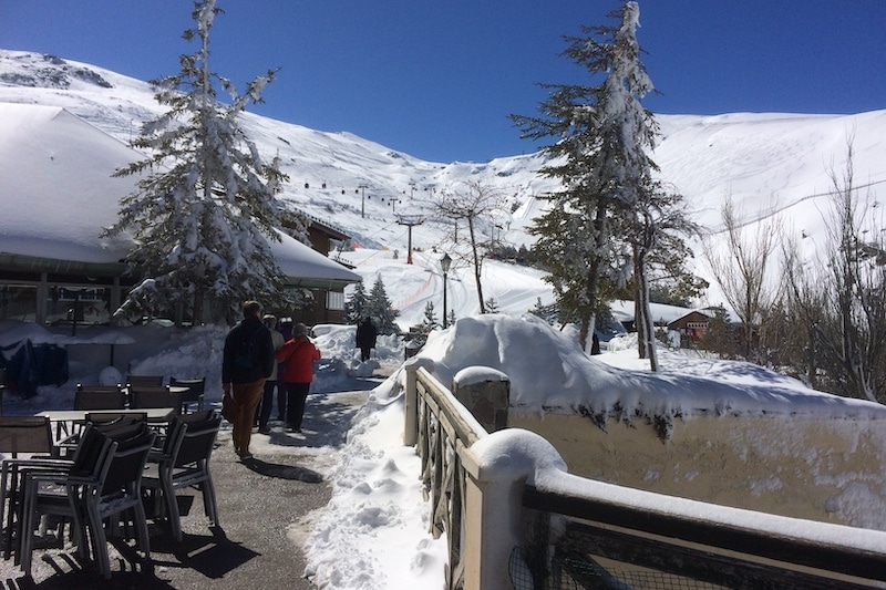 B&B Casa Aire de Lecrin Omgeving skien Andalusie