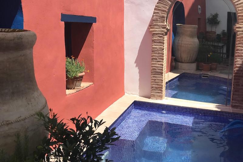 B&B Casa Aire de Lecrin Andalusie Zwembad patio