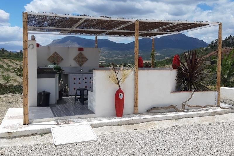 B&B Casa Lamberdina buitenkeuken