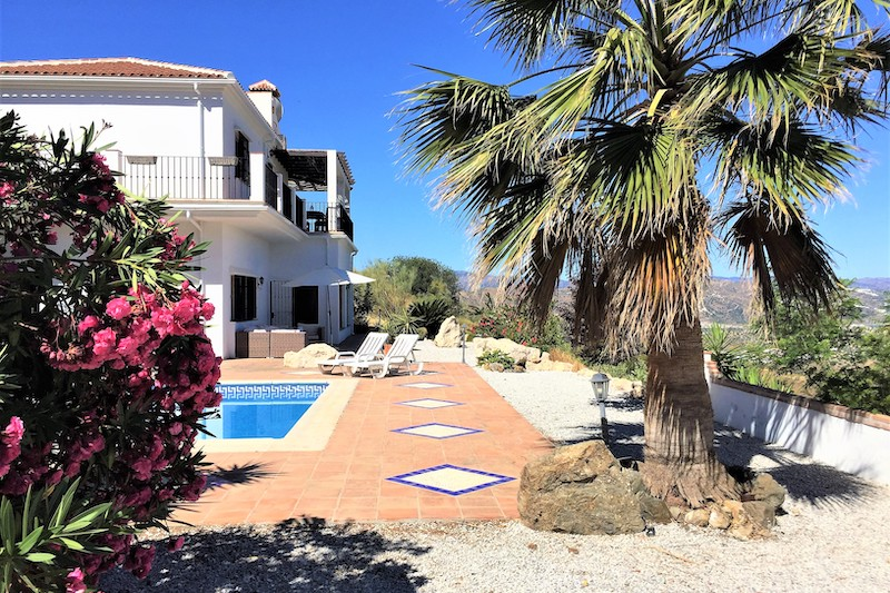 B&B Casa Lobera Vakantie zuid Spanje Villa Azar zwembad
