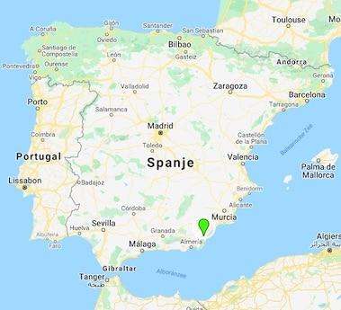 Casa Sin Fin landkaart