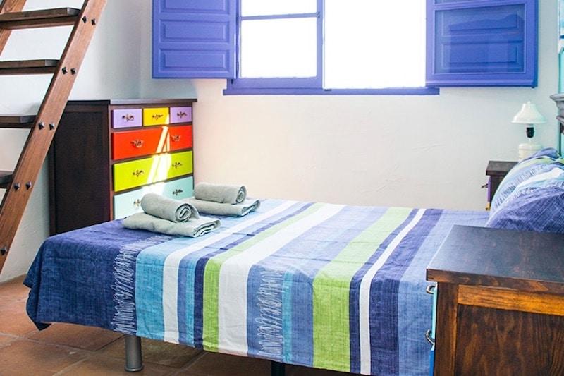B&B Hacienda Guauro Viejo slaapkamer