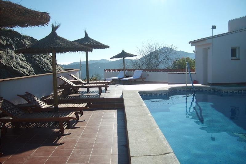 Zwembad van B&B Casa Agradable