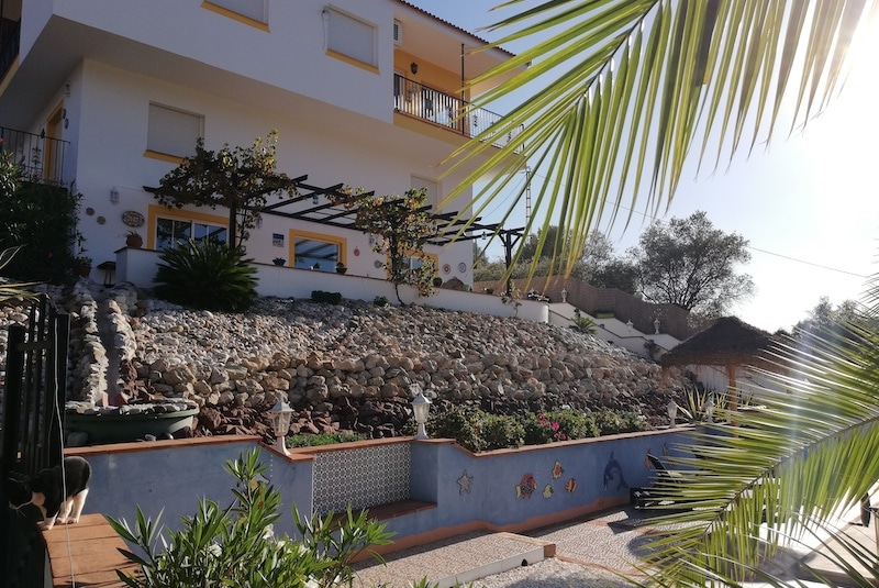 Voorkant B&B Casa el Corasueño