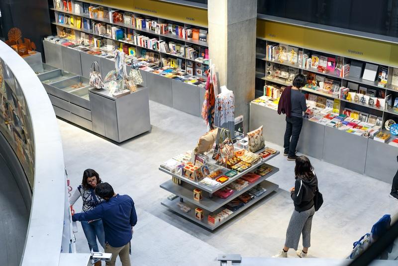 boekhandel in Sevilla, Spanje