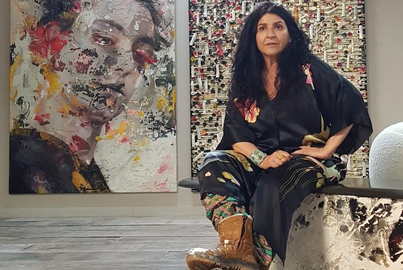 Expositie Spaanse kunstenares Lita Cabellut in Lisse