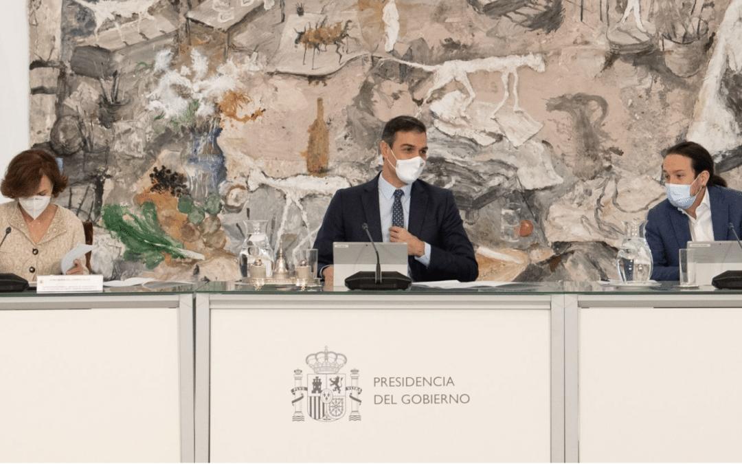 Noodtoestand en avondklok in Spanje