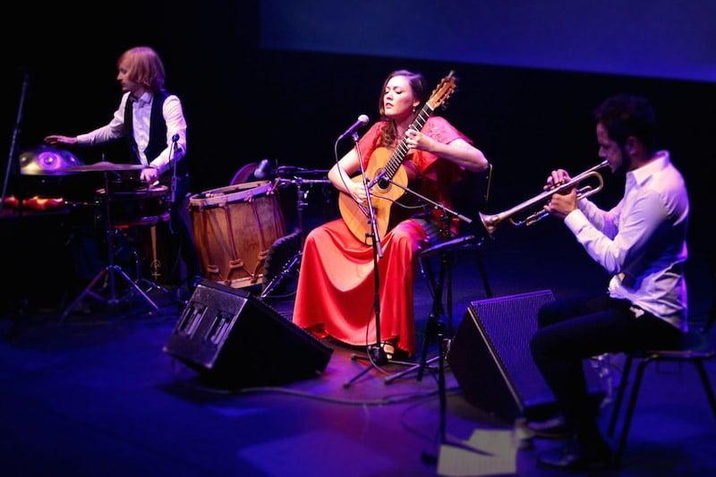 Flamencoartieste María Marín in de Meervaart