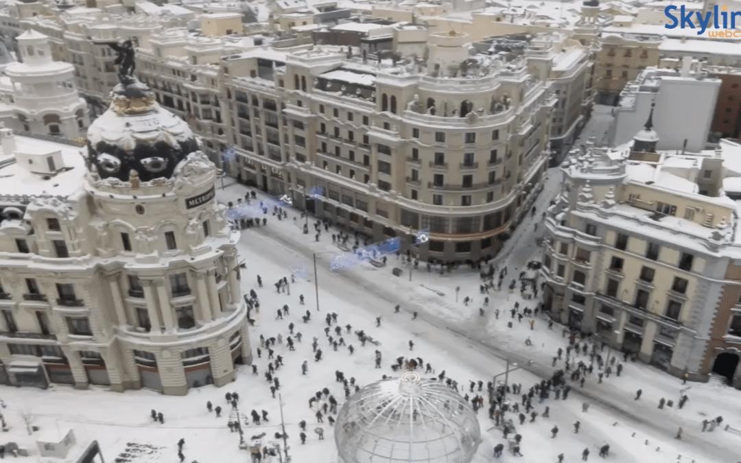 Ernstige problemen door sneeuw in Spanje