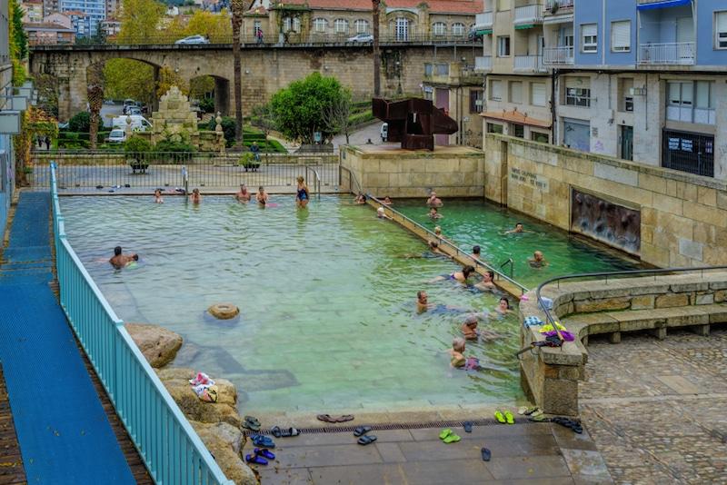 Thermale baden in Spanje