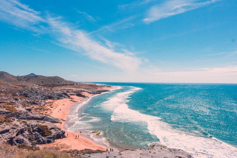Calblanque strand aan de Costa Blanca