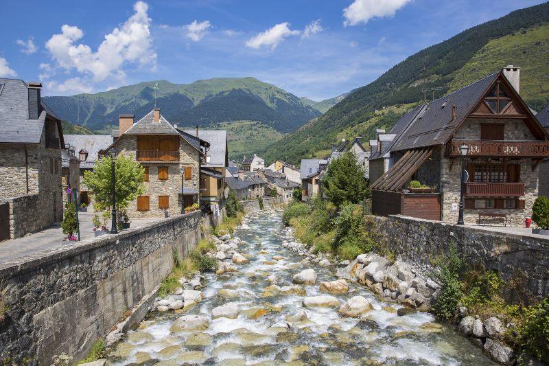 Vielha, de hoofdstad van Vall d'Aran