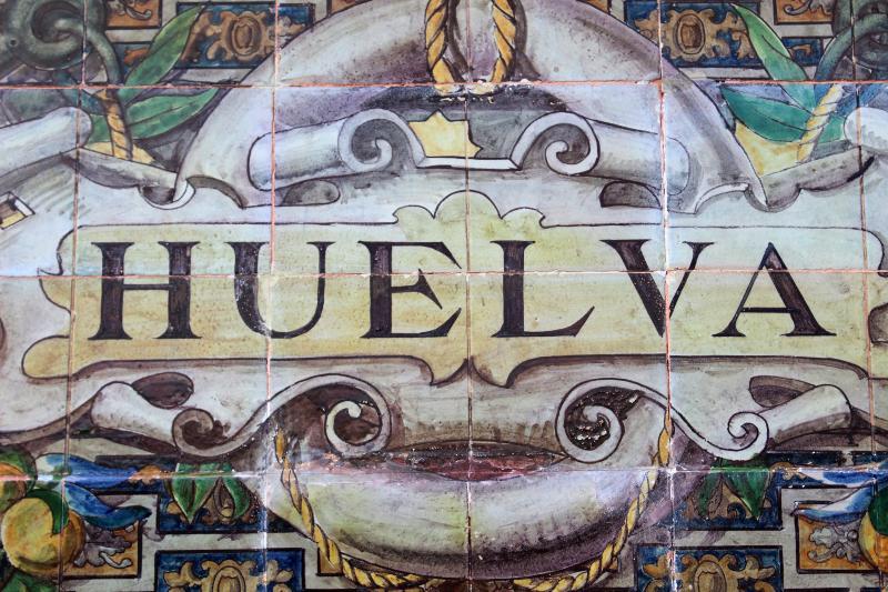 Tegeltjes in Huelva