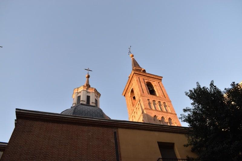 San Nicolás kerk in Madrid