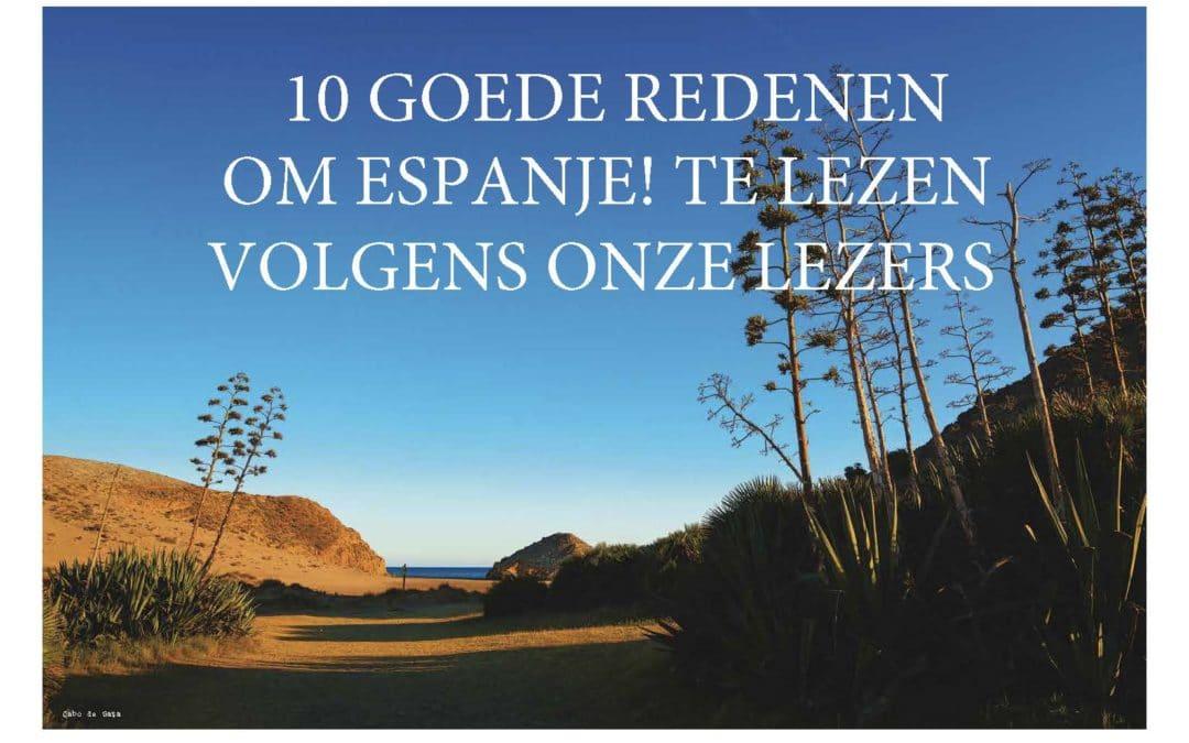 10 redenen om ESPANJE! te lezen